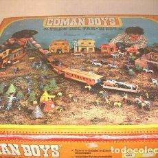 Coman Boys: COMAN BOYS TREN DEL FAR WEST CAJA COMPLETA REF 601 AÑOS 80 HAY POCOS COMPLETOS COMO ESTE. Lote 218002031