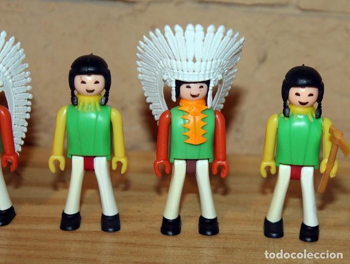 Coman Boys: COMAN BOYS - LOTE 5 FIGURAS - SERIE INDIOS AMERICANOS - NUEVOS - COMANSI - COMANBOYS - Foto 3 - 218801537