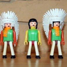Coman Boys: COMAN BOYS - LOTE 5 FIGURAS - SERIE INDIOS AMERICANOS - NUEVOS - COMANSI - COMANBOYS. Lote 218801537