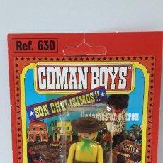 Coman Boys: BLISTER DE VAQUERO - COMAN BOYS . REALIZADO POR COMANSI . REF 630 ULTIMAS SERIES . LEER DESCRIPCION. Lote 219986421