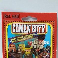 Coman Boys: BLISTER DE INDIO - COMAN BOYS . REALIZADO POR COMANSI . REF 630 ULTIMAS SERIES . LEER DESCRIPCION. Lote 219987090