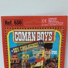 Coman Boys: BLISTER DE SOLDADO FEDERAL - COMAN BOYS . REALIZADO POR COMANSI . REF 630 ULTIMAS SERIES. Lote 219987457