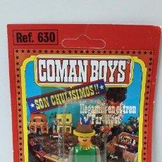 Coman Boys: BLISTER DE INDIO - COMAN BOYS . REALIZADO POR COMANSI . REF 630 ULTIMAS SERIES . LEER DESCRIPCION. Lote 219987703