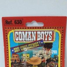 Coman Boys: BLISTER DE VAQUERO - COMAN BOYS . REALIZADO POR COMANSI . REF 630 ULTIMAS SERIES . LEER DESCRIPCION. Lote 219988496