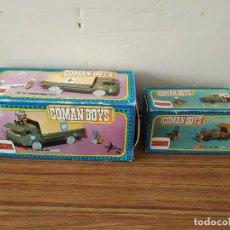 Coman Boys: COMAN BOYS CAMION Y JEEP ONU CON CAJAS. Lote 220609261