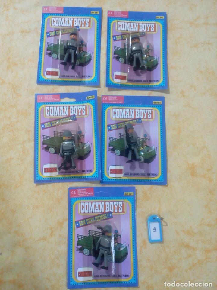 COMAN BOYS COMANBOYS FIGURAS LOTE 4 $ (Juguetes - Figuras de Acción - Coman Boys)