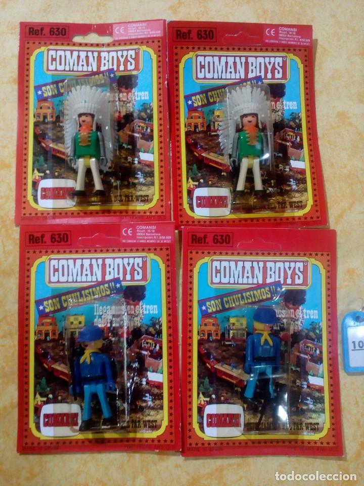 COMAN BOYS COMANBOYS FIGURAS MUÑECOS LOTE 10 $ (Juguetes - Figuras de Acción - Coman Boys)