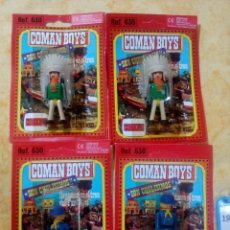 Coman Boys: COMAN BOYS COMANBOYS FIGURAS MUÑECOS LOTE 10 $. Lote 222081200