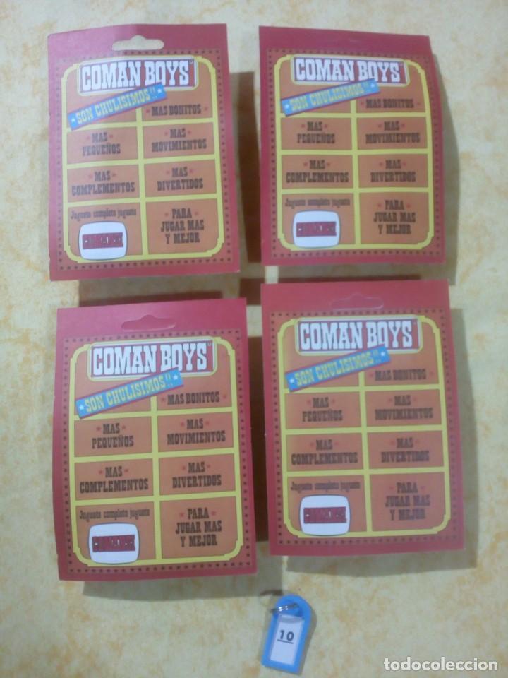 Coman Boys: COMAN BOYS COMANBOYS FIGURAS MUÑECOS LOTE 10 $ - Foto 2 - 222081200