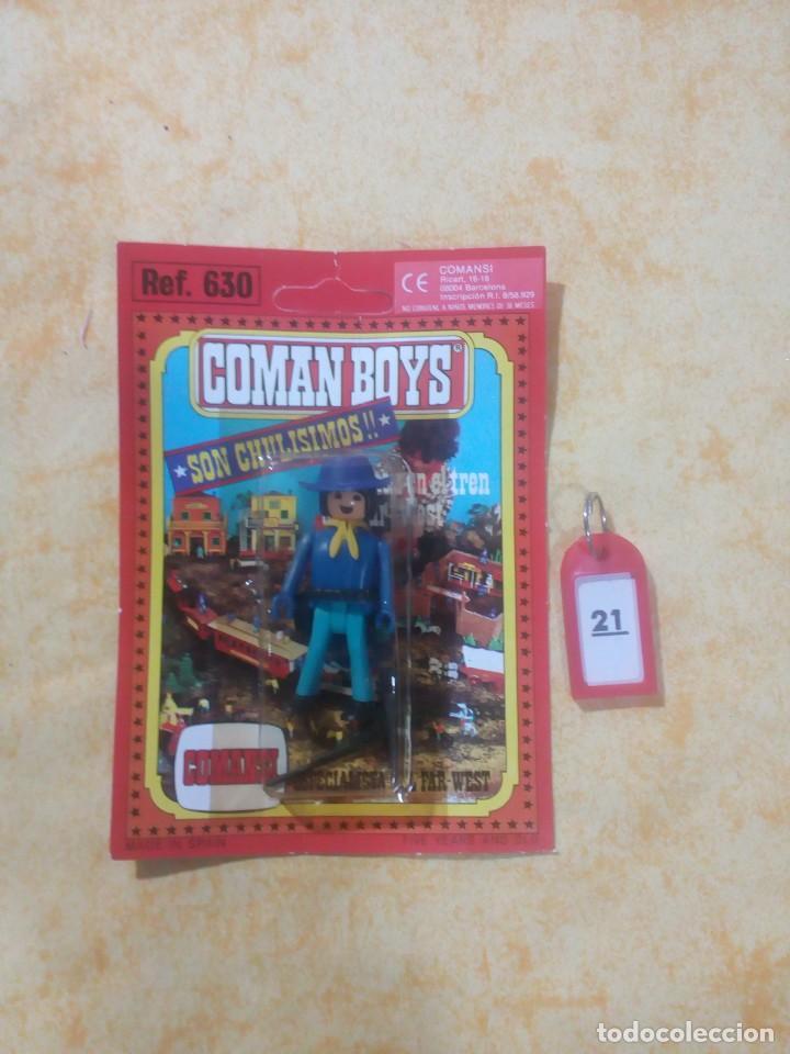 COMAN BOYS COMANBOYS FIGURAS MUÑECOS LOTE 21 $ (Juguetes - Figuras de Acción - Coman Boys)