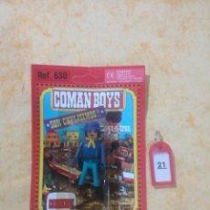 Coman Boys: COMAN BOYS COMANBOYS FIGURAS MUÑECOS LOTE 21 $. Lote 222081681