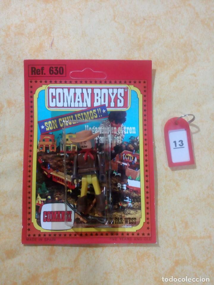 COMAN BOYS COMANBOYS FIGURAS MUÑECOS LOTE 13 $ (Juguetes - Figuras de Acción - Coman Boys)