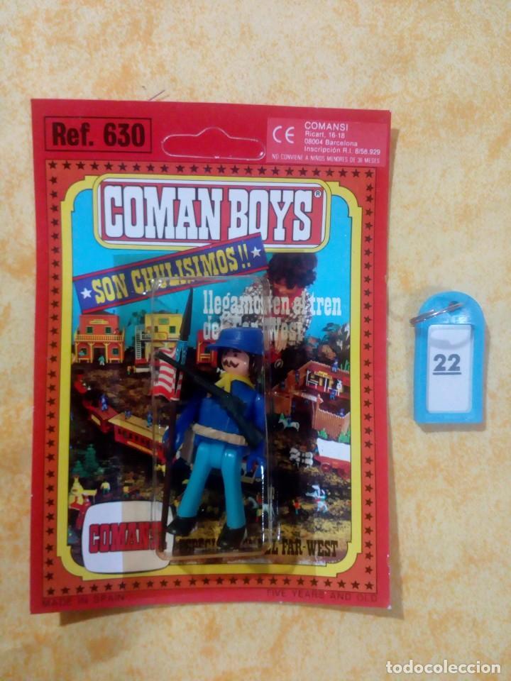 COMAN BOYS COMANBOYS FIGURAS MUÑECOS LOTE 22 $ (Juguetes - Figuras de Acción - Coman Boys)