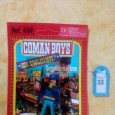 Coman Boys: COMAN BOYS COMANBOYS FIGURAS MUÑECOS LOTE 22 $. Lote 222081932