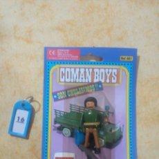 Coman Boys: COMAN BOYS COMANBOYS FIGURAS MUÑECOS LOTE 22 $. Lote 222082011