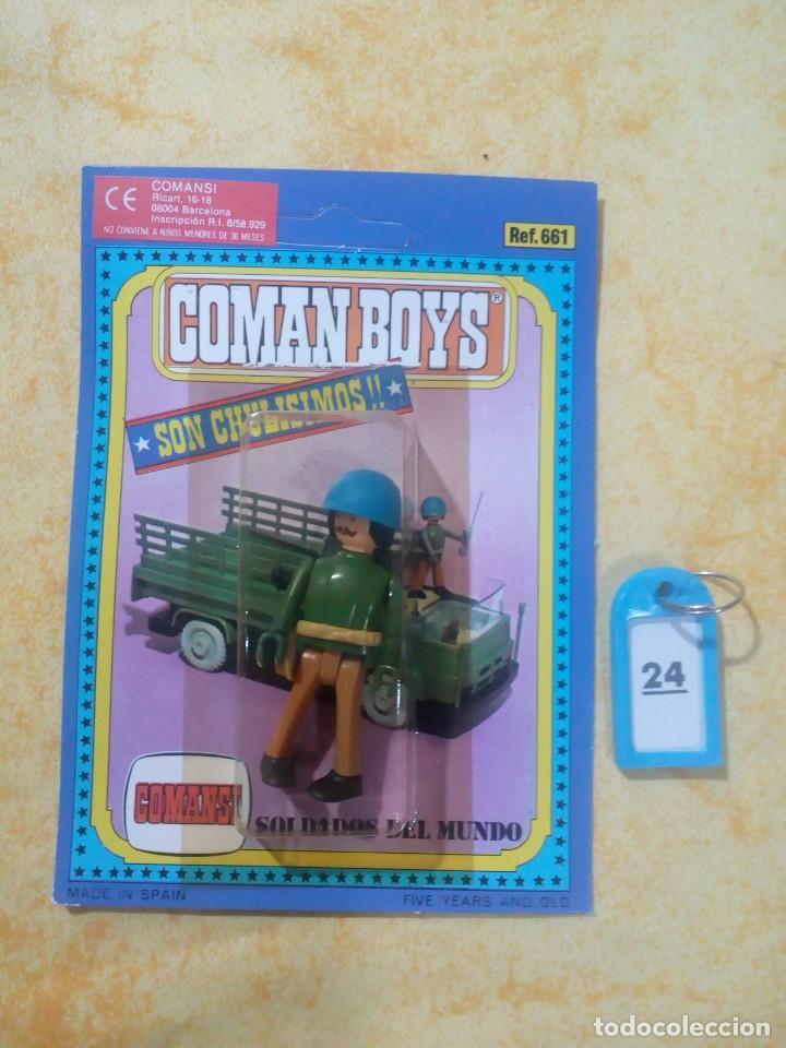 COMAN BOYS COMANBOYS FIGURAS MUÑECOS LOTE 24 $ (Juguetes - Figuras de Acción - Coman Boys)