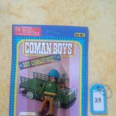 Coman Boys: COMAN BOYS COMANBOYS FIGURAS MUÑECOS LOTE 24 $. Lote 222082081