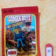 Coman Boys: COMAN BOYS COMANBOYS FIGURAS MUÑECOS LOTE 27 $. Lote 222082320