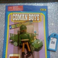 Coman Boys: COMAN BOYS COMANBOYS FIGURAS MUÑECOS LOTE 26 $. Lote 222118722