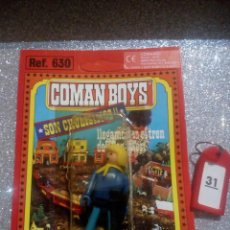 Coman Boys: COMAN BOYS COMANBOYS FIGURAS MUÑECOS LOTE 31 $. Lote 222119201