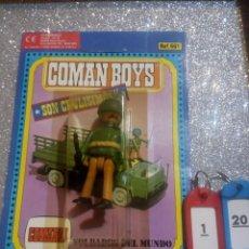 Coman Boys: COMAN BOYS COMANBOYS FIGURAS MUÑECOS LOTE 120 $. Lote 222124663