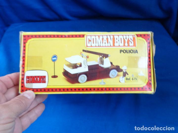 COMANSI - CAMION GRUA COMAN BOYS AÑOS 70 VER FOTOS! SM (Juguetes - Figuras de Acción - Coman Boys)