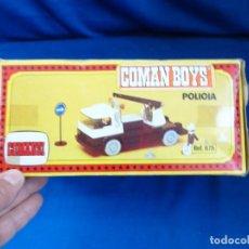 Coman Boys: COMANSI - CAMION GRUA COMAN BOYS AÑOS 70 VER FOTOS! SM. Lote 222349085