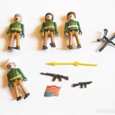 Coman Boys: LOTE DE COMAN BOYS POLICIAS, MILITARES O CASCOS AZULES CON ARMAS. Lote 222446570