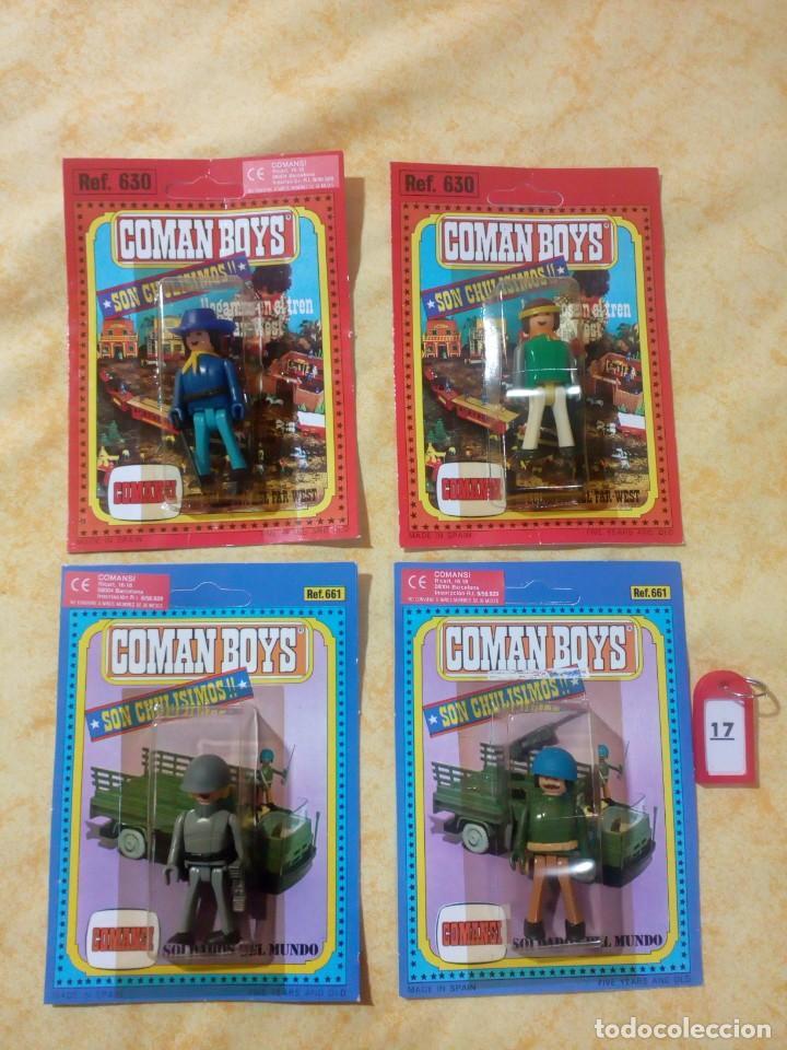 COMAN BOYS COMANBOYS FIGURAS MUÑECOS LOTE 17 $ (Juguetes - Figuras de Acción - Coman Boys)