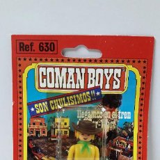Coman Boys: BLISTER DE VAQUERO - COMAN BOYS . REALIZADO POR COMANSI . REF 630 ULTIMAS SERIES . LEER DESCRIPCION. Lote 222726205