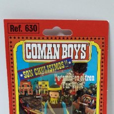 Coman Boys: BLISTER DE INDIO - COMAN BOYS . REALIZADO POR COMANSI . REF 630 ULTIMAS SERIES . LEER DESCRIPCION. Lote 222726225