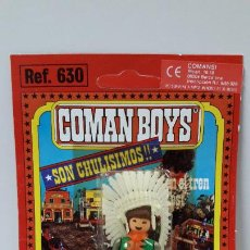 Coman Boys: BLISTER DE INDIO - COMAN BOYS . REALIZADO POR COMANSI . REF 630 ULTIMAS SERIES . LEER DESCRIPCION. Lote 223265055