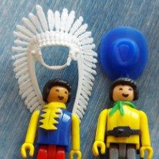 Coman Boys: COMAN BOYS: INDIO Y VAQUERO CON SUS ACCESORIOS AÑOS 80. Lote 225636955