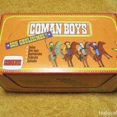 Coman Boys: COMANBOYS COMAN BOYS COMANSI COMANDOS DEL ESPACIO CAJA EXPOSITORA SIN USAR, LLENA, SIN TOCAR.. Lote 226401588