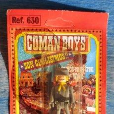 Coman Boys: COMAN BOYS: SOLDADO CONFEDERADO EN BLISTER ORIGINAL,AÑOS 80. Lote 226690480
