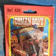 Coman Boys: COMAN BOYS: COW BOY, VAQUERO EN BLISTER ORIGINAL, AÑOS 80. Lote 226692910