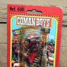 Coman Boys: COMAN BOYS - BLISTER VAQUERO - NUEVO, SIN USO - REF. 630 - OESTE. Lote 227570935