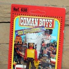Coman Boys: COMAN BOYS - BLISTER INDIO - NUEVO, SIN USO - REF. 630 - OESTE. Lote 227571005