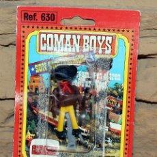 Coman Boys: COMAN BOYS - BLISTER FIGURA VAQUERO O COWBOY - REF. 630 - NUEVO, SIN USO - OESTE. Lote 227571235