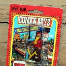Coman Boys: COMAN BOYS - BLISTER FIGURA INDIO - REF. 630 - NUEVO, SIN USO - OESTE. Lote 227572570