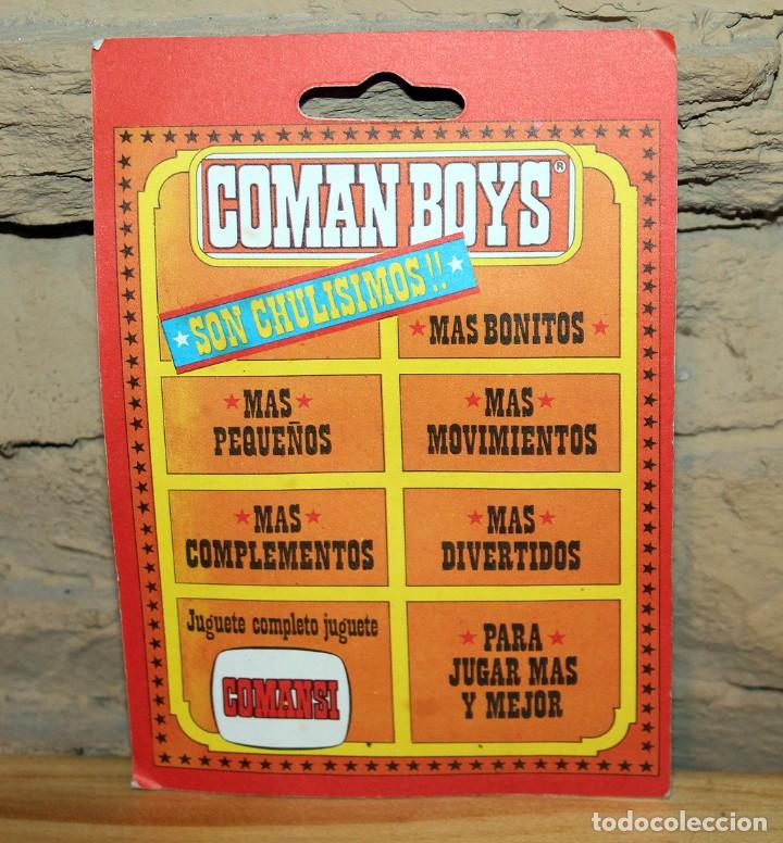 Coman Boys: COMAN BOYS - BLISTER FIGURA INDIO - REF. 630 - NUEVO, SIN USO - OESTE - Foto 2 - 227572620