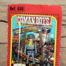 Coman Boys: COMAN BOYS - BLISTER FIGURA SOLDADO CONFEDERADO - REF. 630 - NUEVO, SIN USO - OESTE. Lote 227574455