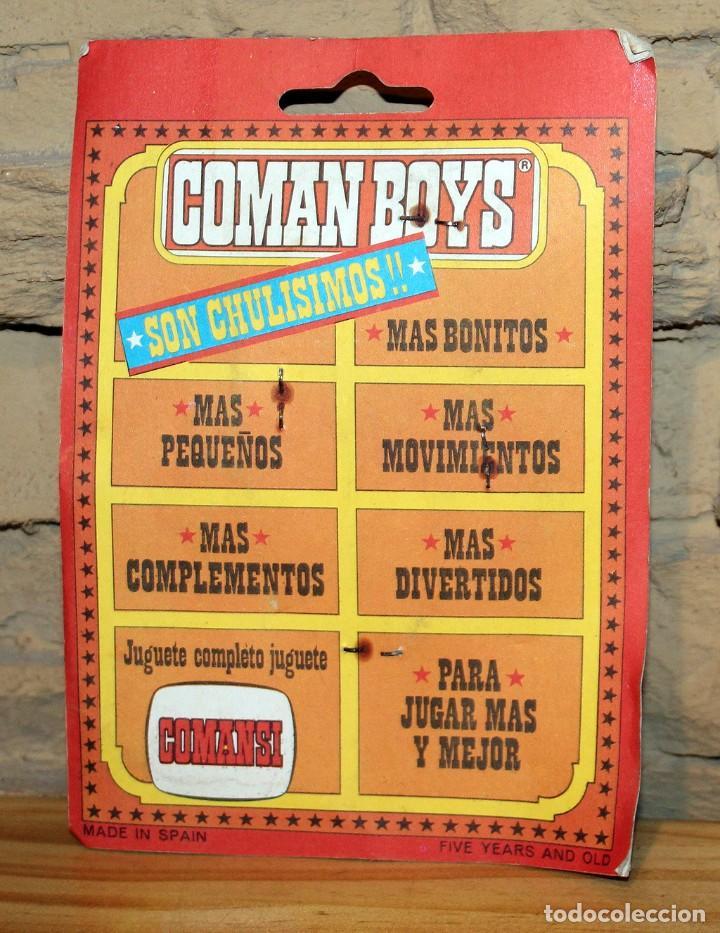 Coman Boys: COMAN BOYS - BLISTER FIGURA VAQUERO O COWBOY - NUEVO, SIN USO - OESTE - Foto 2 - 227574525
