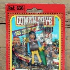 Coman Boys: COMAN BOYS - BLISTER FIGURA INDIO - REF. 630 - NUEVO, SIN USO - OESTE. Lote 227574560
