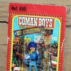 Coman Boys: COMAN BOYS - BLISTER FIGURA SOLDADO FEDERAL - REF. 630 - NUEVO, SIN USO - OESTE. Lote 227574605