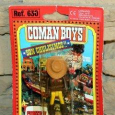 Coman Boys: COMAN BOYS - BLISTER FIGURA VAQUERO O COWBOY - REF. 630 - NUEVO, SIN USO - OESTE. Lote 227687844
