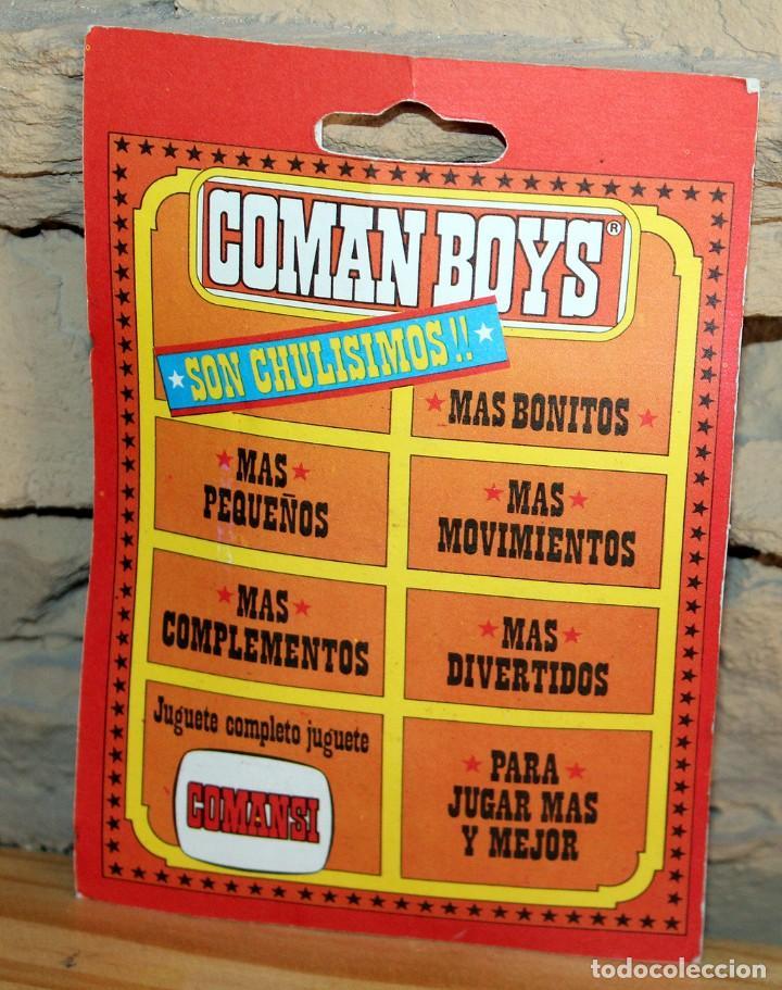 Coman Boys: COMAN BOYS - BLISTER FIGURA VAQUERO O COWBOY - REF. 630 - NUEVO, SIN USO - OESTE - Foto 2 - 227687844