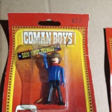 Coman Boys: FIGURA COMAN BOYS EN SU BLISTER .GRAPADO PERO ARTICULO NUEVO SIN USO DE ANTIGUO ALMACEN.. Lote 227772630