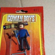 Coman Boys: FIGURA COMAN BOYS EN SU BLISTER .GRAPADO PERO ARTICULO NUEVO SIN USO DE ANTIGUO ALMACEN.. Lote 227772670