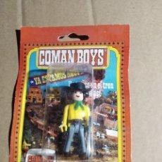 Coman Boys: FIGURA COMAN BOYS EN SU BLISTER .GRAPADO PERO ARTICULO NUEVO SIN USO. Lote 227772945